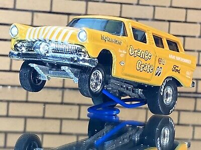 "AU28.37 • Buy Hot Wheels 8 Crate""Orange Crate"" Wagon CUSTOM GASSER-Decal-RR-EXTREMELY DETAILED"