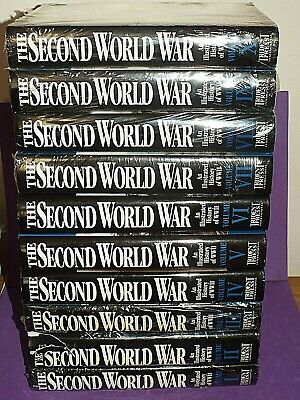 £100 • Buy The Second World War: An Illustrated History Of WWII, (10 Vols), Trident, 2000