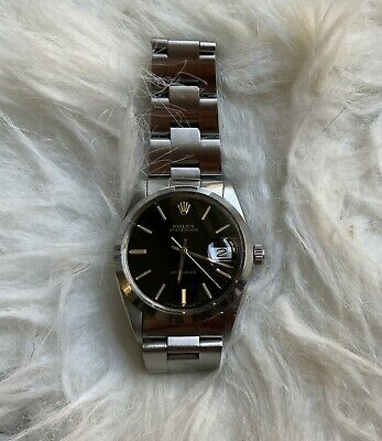 AU2987.48 • Buy Stunning Rolex Oysterdate Precision Model 6694 Black Dial