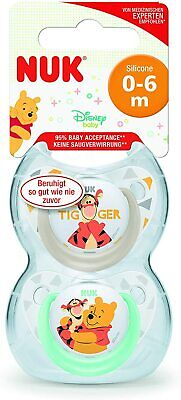 £7.33 • Buy NUK Disney Baby Dummies  0-6 Months   Silicone Soothers   BPA Free