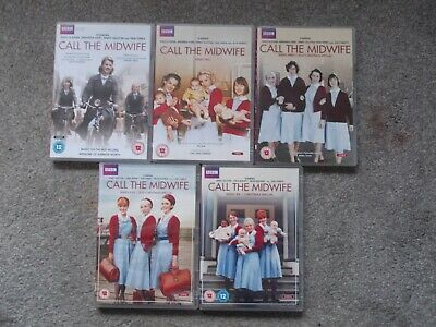 Call The Midwife Series 1,2,3,5 & 6 (DVD) 15 Discs 39 Hours+  • 15.99£
