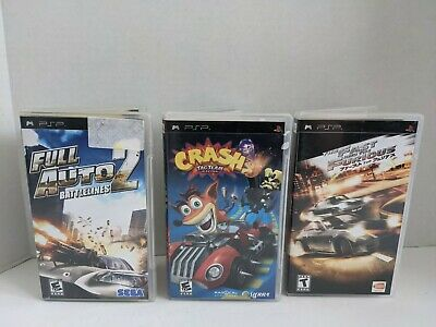 £32.44 • Buy PSP Racing Bundle Of 3 Games - Fast And The Furious - Crash Racing - Full Auto 2