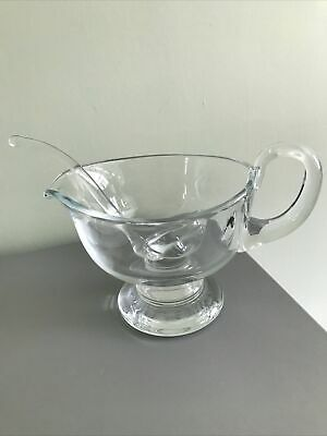 £10.99 • Buy Quality Crystal Glass Jug And Ladle 6 Inches