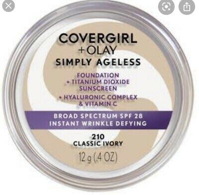 AU20 • Buy Covergirl + Olay Simply Ageless Foundation 210.  ONLY TWO LEFT HURRY!!!!!