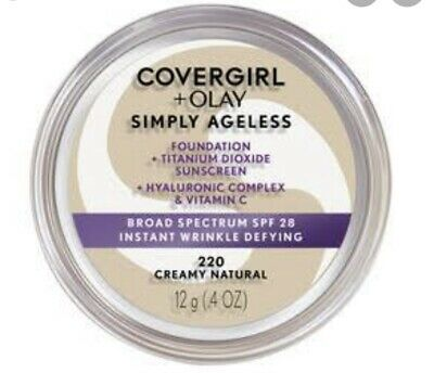 AU20 • Buy Covergirl + Olay Simply Ageless Foundation 220. ONLY ONE LEFT HURRY!!!!!