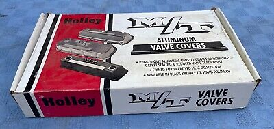 $495 • Buy Vintage Nos M/t Mickey Thompson Finned Aluminum Valve Covers Big Block Chevy