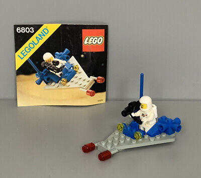£9.99 • Buy LEGO 6803 Classic Space Patrol With Original Instructions