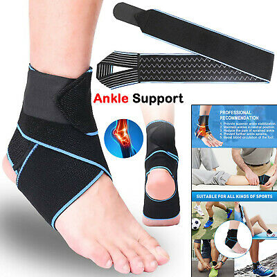 £3.89 • Buy Ankle Arch Support Brace Foot Compression Wrap Injury Strap Pain Relief Bandage