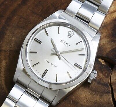 $ CDN4322.67 • Buy Rolex Oyster Ref.6426 Original Silver Dial 42mm Cal1225 Manual 1972 Vintage Used