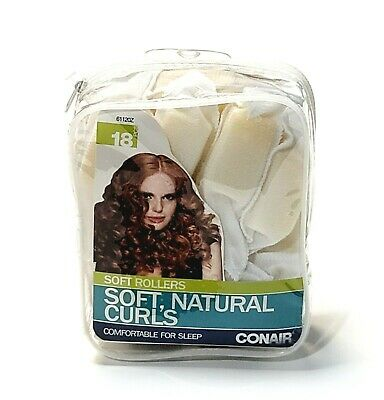 AU11.93 • Buy Conair Styling Soft Curlers 18ct Foam Rollers Body & Bounce Comfy For Sleep