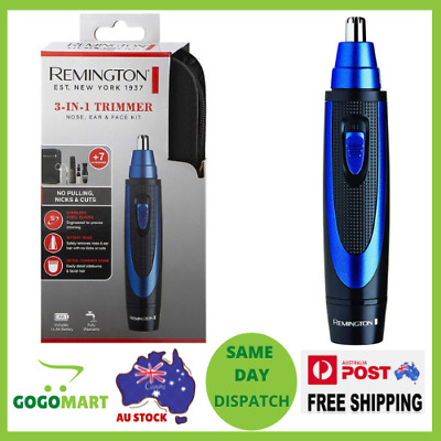AU28 • Buy Remington 3-in-1 Trimmer Nose, Ear And Face Trimmer/Groomer Kit BRAND NEW
