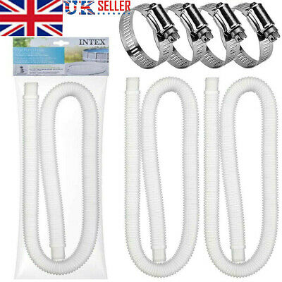 £11.99 • Buy UK Intex Accessory Hose 32mm Swimming Pool Pipe X 1.5m For Pump/Filter/Heater