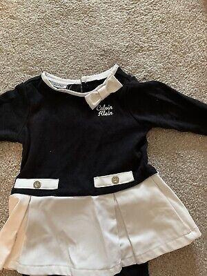 ✨Baby Girl Calvin Klein Outfit Age 18 Months ✨ • 4.75£