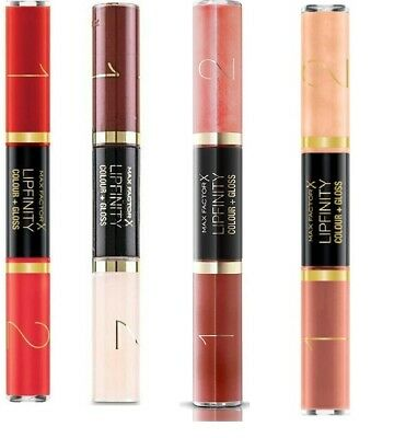 £2.99 • Buy Max Factor Lipfinity Colour And Gloss - CHOOSE YOUR SHADE - NEW