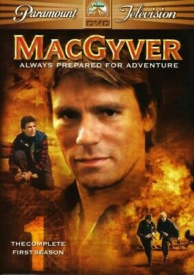 $15 • Buy MacGyver-Complete First Season 1 (DVD,6-Disc Set) 17 & 1/2 Hours Of Viewing Time