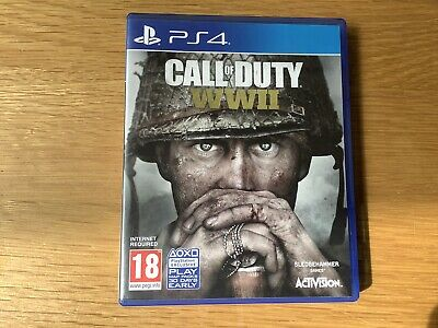 PS4 Call Of Duty WW2 • 4£