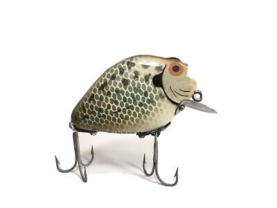 $ CDN42.32 • Buy Heddon Punkinseed Lure 740 CRA Under Chin Wood Crappie Dowagiac Old Fishing