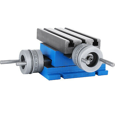 £68.99 • Buy Milling Machine Worktable Cross Slide Table 4 X7.3 Compound For Bench Drill Vise