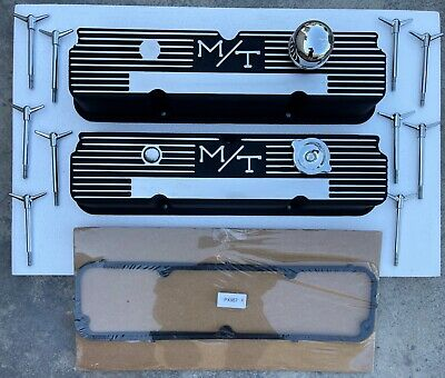 $599.95 • Buy FORD Mickey Thompson M/T 360 390 427 428 Aluminum Finned VALVE COVERS 103R-56