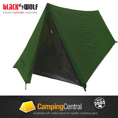 AU69.95 • Buy BLACK WOLF STEALTH ALPHA HIKING TENT LIGHTWEIGHT (1 PERSON) 1.8kg