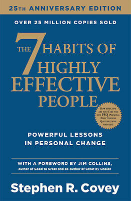 AU12.46 • Buy The 7 Habits Of Highly Effective People By Stephen R Covey Non Fiction Paperback