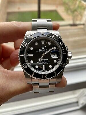 $ CDN17500 • Buy Rolex Ceramic Submariner 40mm No Box No Paper Watch Only 116610LN Discontinued