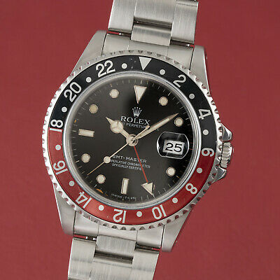 $ CDN13189.69 • Buy Rolex GMT-Master Coke Automatik Stahl Herrenuhr Oyster Perpetual Ref. 16700