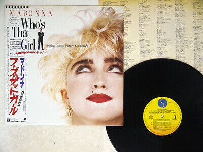 £3.02 • Buy OST(MADONNA) WHO'S THAT GIRL SIRE P-13544 Japan OBI VINYL LP