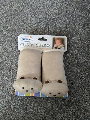 Summer Cushy Straps - Baby Cushioned Car Seat Belt Strap Covers New • 2.50£
