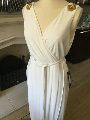 $ CDN76.94 • Buy Ariella Evening Waterfall Dress New With Tags Size 18