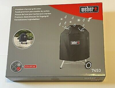 $ CDN62.93 • Buy Genuine Weber 7453 Premium Kettle Cover Fits 22.5-Inch Charcoal Grills 30  X 30