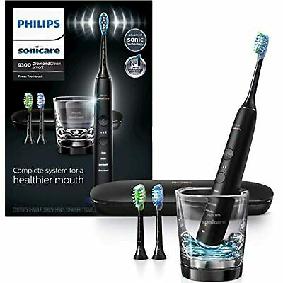 AU159.42 • Buy Philips Sonicare DiamondClean Smart 9300 Rechargeable Electric Toothbrush, Black