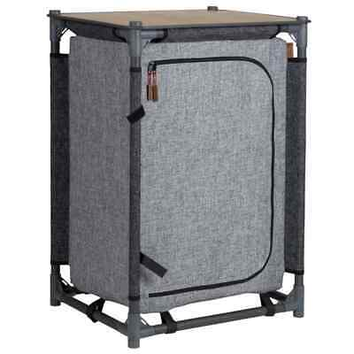 Bo-Camp Camping Cupboard Norbury 57x48x80cm Anthracite Hiking Storage Cabinet • 82.40£