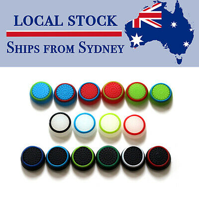 AU4.89 • Buy 4 X Analog PS5 Xbox One PS4 PS3 Controller Thumb Stick Grip Thumbstick Cap Cover