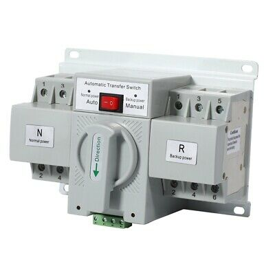 £44.73 • Buy 3P 63A 380V Dual Power Automatic Transfer Switch MCB Type Power Automatic T G5Q9