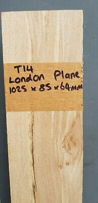 Stunning London Plane Spalted Character Beam 760x350x30mm (T14) • 32£