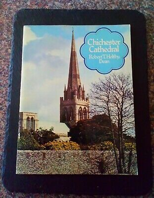Vintage Chichester Cathedral Guide Book By Robert T. Holtby • 1.99£