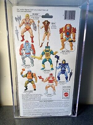 $14800 • Buy He-Man 8 Back MOTU MOC *AFA 85*
