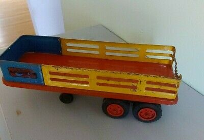 $ CDN24.17 • Buy Wyandotte Pressed Steel Toy Trailer Valley Farms- Trailer Only