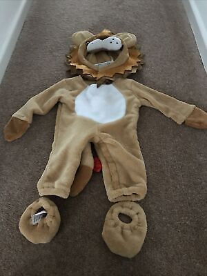 £6.99 • Buy Children's Lion Costume Age 0-6 Months By Christys Dress Up
