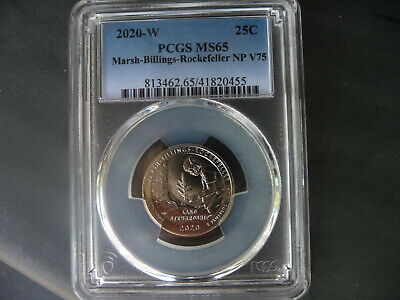 $ CDN120.92 • Buy 2020 W Marsh Billings-Rockefeller National Park Quarter PCGS MS 65