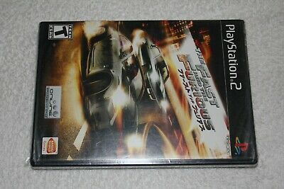 £36.04 • Buy The Fast And The Furious (PlayStation 2, PS2, 2006) New Factory Sealed