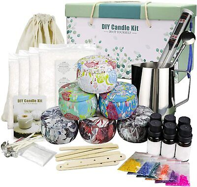 £55.80 • Buy Candle Making Kit Beeswax Scented Candles Supplies Arts And Crafts For Adults