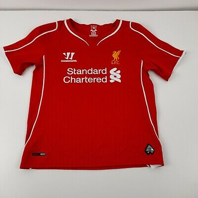 £8.99 • Buy Childs Warrior Liverpool Home Football Shirt 2014 - 2015  Age 4/5yr