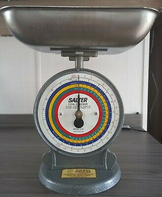 £18 • Buy Vintage Salter Coin Checker Weighing Scale Shop Bank Post Office - England 53B