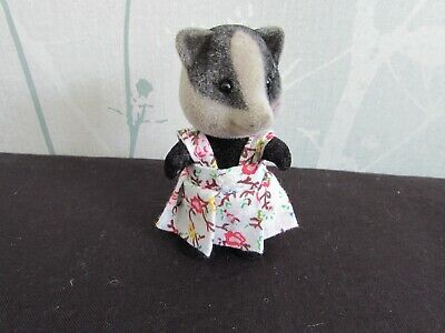 £3 • Buy Sylvanian Families - Hand Made Clothes - New Child's Floral Pattern Dress - S754