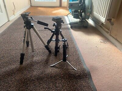 £50 • Buy BUNDLE Camera Tripods And Head Accessories