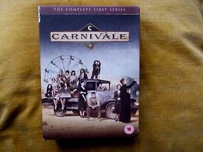 Carnivale - Series 1 (DVD) 12 Episodes + Extras 6 Discs 10 Hrs 25 Mins # • 0.99£