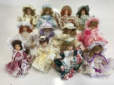 $ CDN29.04 • Buy 12 Miniature Dolls 4 Inch Lot Southern Belle Regency Vintage-Style  No Box