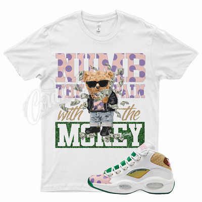 $26.99 • Buy White NUMB T Shirt For Reebok Mid Question Candyland Candy Land Kamikaze Balvin